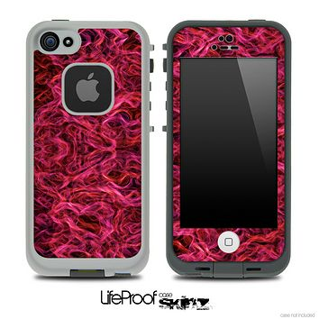 Pink Flames Skin for the iPhone 5 or 4/4s LifeProof Case
