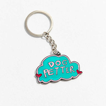 Annie Free Dog Keychain | Urban Outfitters