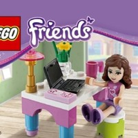 LEGO Friends Set #30102 Olivias Desk