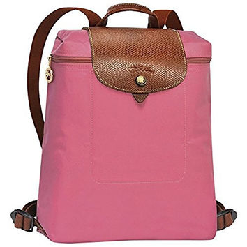 LONGCHAMP LE PLIAGES BACKPACK PEONY
