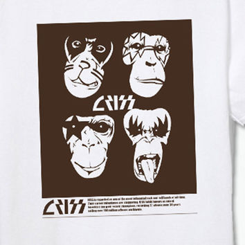 Assorted Rock Band White T-Shirts