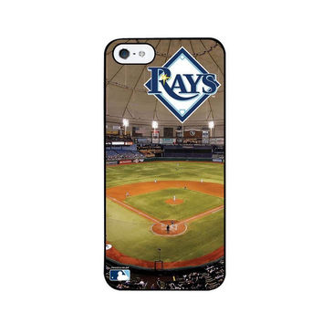 Tampa Bay Rays Stadium Collection Iphone 5 Case (Field)