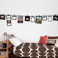 Large Clothesline Frames Decal - Wall