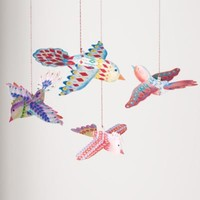 Kids' Hanging Décor: Kids Colorful and Bright Hanging Birds
