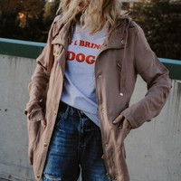 Surcharge Taupe Jacket
