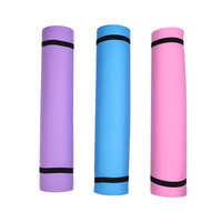 Sports Accessories Durable 4mm Thickness Yoga Mat Non-slip Exercise Pad Health Lose Weight Fitness