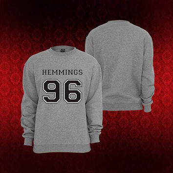Luke Hemmings sweater Sweatshirt Crewneck Men or Women Unisex Size