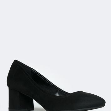 Lino Low Block Heel Pump