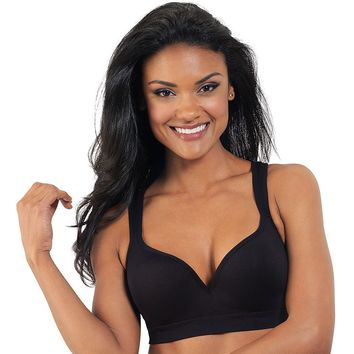 Lily of France Bra: Energy Boost Medium-Impact Sports Bra 2151900 - Women's, Size:
