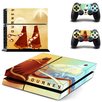 Journey design decal for ps4 console & controllers skin sticker