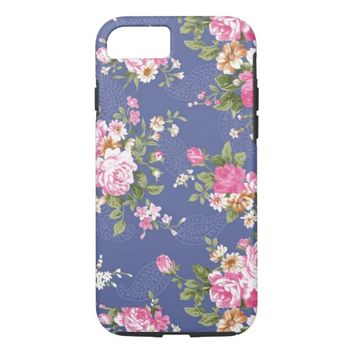 Cool Vintage Floral Pattern Retro Iphone7 case