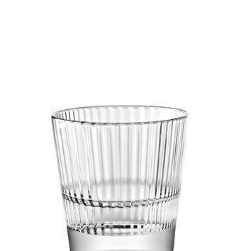 Majestic Gifts E65238-S6 Quality Glass Stackable Old Fashioned Tumbler 10 oz. Set of 6
