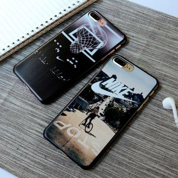 PEAPDQ7 Nike' Printed Iphone 7&7 Plus Cover Case + Nice Gift Box