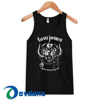 Metal Cat Tomjones Tank Top Men And Women Size S to 3XL