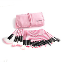 32 Pcs Makeup Brushes Set Kit + Pouch Case (Gift set)