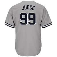 Nighty's Shop Mens #99 Aaron_Judge Home Grey Player Stitched Baseball Jerseys