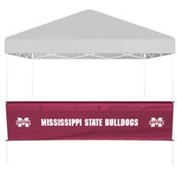 Mississippi State Half Side Panel  Bartop Table Cover