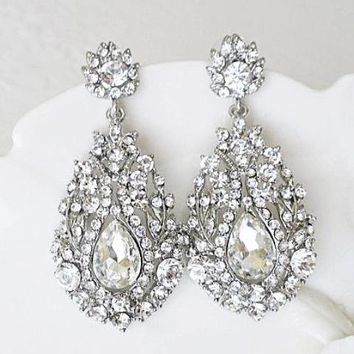 Extravagant Wedding Earrings
