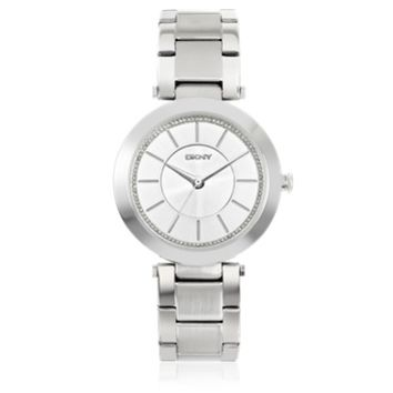 DKNY Designer Women's Watches Stanhope Silver Tone Stainless Steel Women's Watch