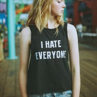 KATE I HATE EVERYONE TANK