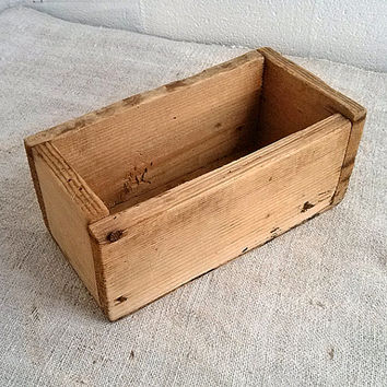 Vintage carpenter tool box Wooden tools boxes Old workshop storage container Office treasure box Farmhouse decor Woodworking Home decoration