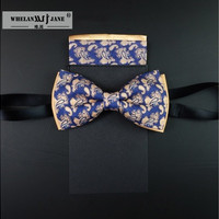 Beautiful Tie luxury men's ties Fashion bow tie Retro cravate  Tie Clips Vintage Necktie