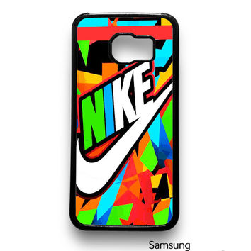 Just Do It Nike Full Color Samsung Galaxy S6 S6 Edge Case by thecase