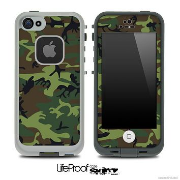 Traditional Camouflage V2 Skin for the iPhone 5 or 4/4s LifeProof Case