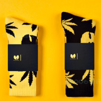 Wu Tang Sport Cotton Long Terry Socks