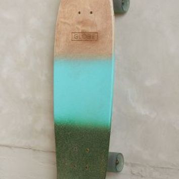 Globe Tracer Classic Longboard by Anthropologie Green Motif One Size Gifts