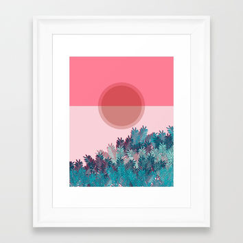 Summer Time 2 Framed Art Print by naturalcolors