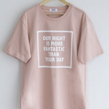 로얄위(THE ROYAL 'WE) FANTASTIC T-SHIRTS PINK - 35,000원 | 무신사 스토어