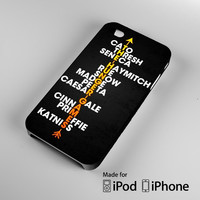 Hunger Game Quote Art A0289 iPhone 4 4S 5 5S 5C 6, iPod Touch 4 5 Cases