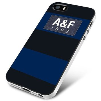 Dark Blue Abercrombie And Fitch iPhone 5 | 5S | 5SE Case Planetscase.com