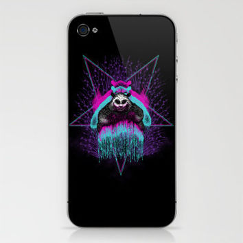 Possessed Panda iPhone & iPod Skin by pigboom | Society6