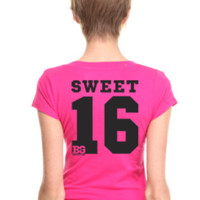 Birthday Girl Sweet 16 Gift Tshirt