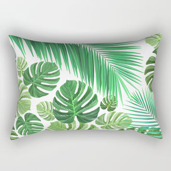 Jungle Fever Rectangular Pillow by exobiology