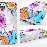 case,cover fits iPhone,iPod models>pic of vivid,agate,rock,marble,pink,bright