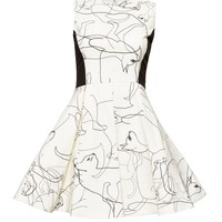 alice + olivia | LUNA SHIFT DRESS