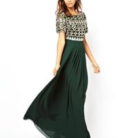 Virgos Lounge Erin Maxi Dress with Embellished Top