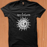 Alice in chains grunge band ever debating in my mind heavy metal dipshits soundgarden t-shirt