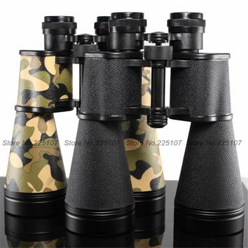 BAIGISH 15X60 Metal Military Binoculars Telescope Multilayer Coating Low Light Level Night Vision Hunting Scope Field-glasses