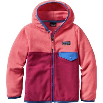Micro D Snap-T Fleece Jacket - Infant Girls'