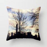 Central Park Throw Pillow by Haroulita | Society6