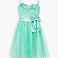 Ruby Rox Girls Dress, Girls Tulle Sequin Dress - Kids - Macy's