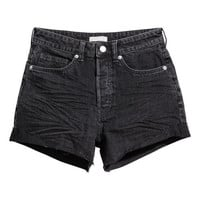 Short High Waist Shorts - from H&M