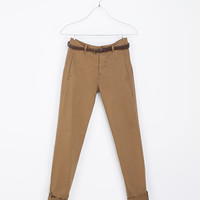 CHINOS WITH POCKET - Trousers - Man | ZARA United States