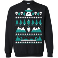 paranormal christmas sweater ugly christmas sweater T-Shirt