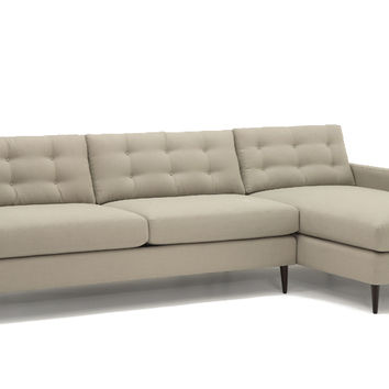 Color Customizable Chaise Sectional Sofa Paramount by Lazar Industries