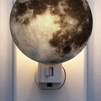 Galaxy You Later Night Light in Moon | Mod Retro Vintage Decor Accessories | ModCloth.com